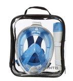 Atlantis Fullface Snorkelmasker White/Blue L/XL_
