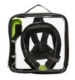Sea Turtle Black/Lime S/M Snorkelmasker_