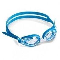 Optische kinder zwembril set blauw Plusglazen compleet