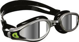 Kaiman EXO Mirrored Lens Silver/Black zwembril