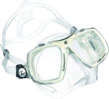 Duikbril op sterkte Aqualung Look 2 kleur TS White Artic Compleet