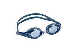 View zwembril op sterkte DELUXE Blauw plus 6