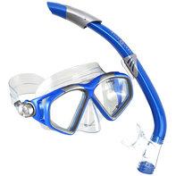 Snorkelset Cozumel II + Seabreeze II Blue