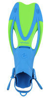 Snorkelvin / flipper Proflex II Junior Green L/XL (35-39)