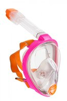 Snorkelmasker volgelaats Aria professional roze