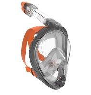 Snorkelmasker volgelaats Aria professional grijs