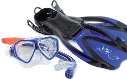 Rando Snorkelset Junior Blue maat XS/S (32-35)