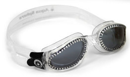 Kaiman Small Dark Lens Clear zwembril