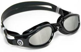 Kaiman Small Mirrored Lens Black zwembril