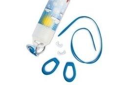 Reserve bandje voor optische kinderzwembril blauw