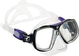 Duikbril op sterkte Aqualung Look 2 Midi Twilight Compleet