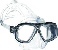 Duikbril op sterkte Aqualung Look 2 kleur TS Zilver Compleet