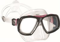Duikbril op sterkte Aqualung Look 2 Midi TS Lady Pink Compleet