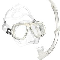 Snorkelset op sterkte Look 2 + PV Snorkel White Arctic