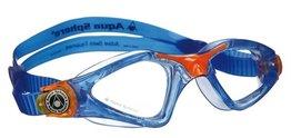 Kinder zwembril Kayenne Junior Blue / Orange Clear lens