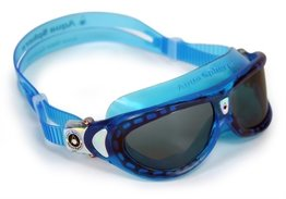 Kinder zwembril Seal Kid Aqua Dark lens