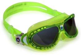 Kinder zwembril Seal Kid Lime Dark lens