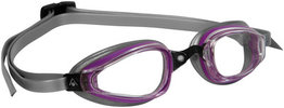 K180  Lady Clear Lens Purple/Silver zwembril