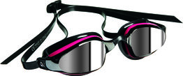 K180 Lady Mirrored Lens Pink/Black zwembril