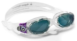 Kaiman Lady Dark Lens Clear/Purple zwembril
