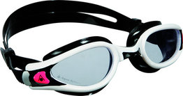 Kaiman EXO Lady Clear Lens White/Black zwembril