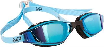 Sportieve Zwembril Xceed Multilayer Blue Lens Blue-Black