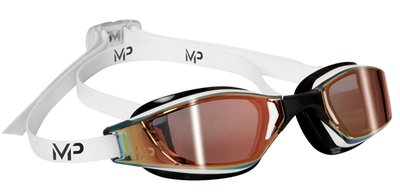 Zwembril Xceed Multilayer Gold Lens White-Black