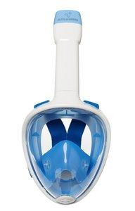 Atlantis Fullface Snorkelmasker White/Blue L/XL