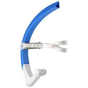 Zwem snorkel Focus Front Snorkel Blue / White