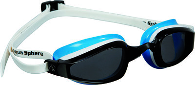 K180 Lady Dark Lens White/Baia zwembril