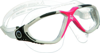 Vista Lady Clear Lens White/Red Obsession