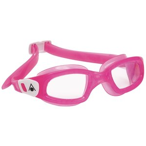 Kinderzwembril Kameleon Kid Clear Lens Pink/White