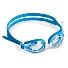 Optische kinder zwembril blauw met plusglazen compleet
